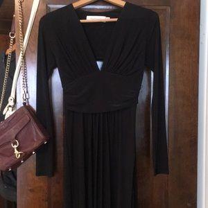 Tbags long sleeve maxi dress.